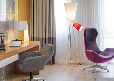 Mercure Hotel Kamen Unna Juniorsuite Schreibtisch und Sessel