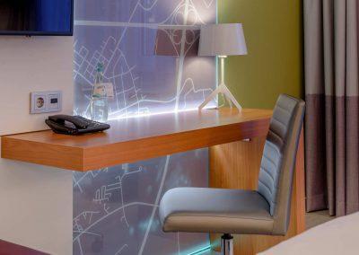 Mercure Hotel Kamen Unna Privilege Zimmer Schreibtisch Detail